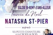 Tournée de Noël 2019 avec Natasha St Pier