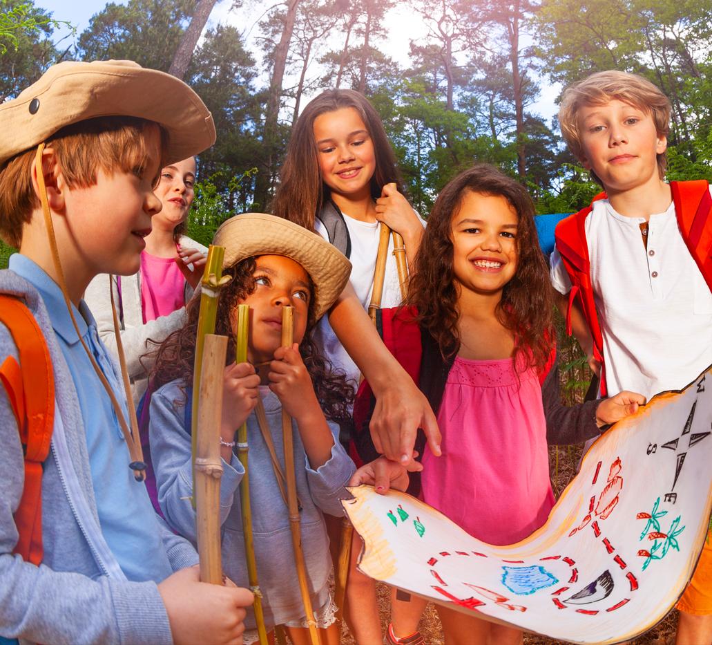 Organisation de chasse au trésor spéciale anniversaire pour enfants dans toute la Belgique